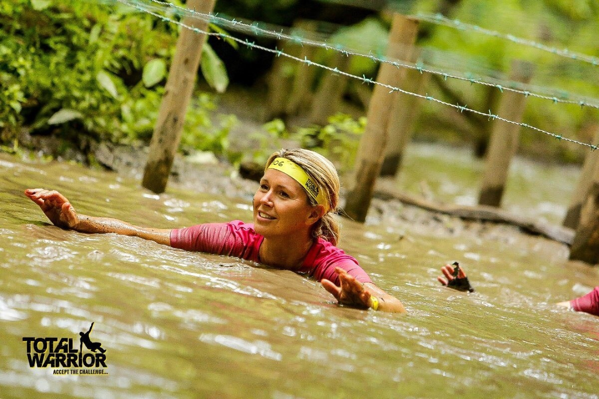 Photo of Anna Jones competing in Total Warrior