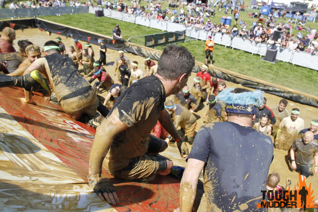 The Pyramid at Tough Mudder