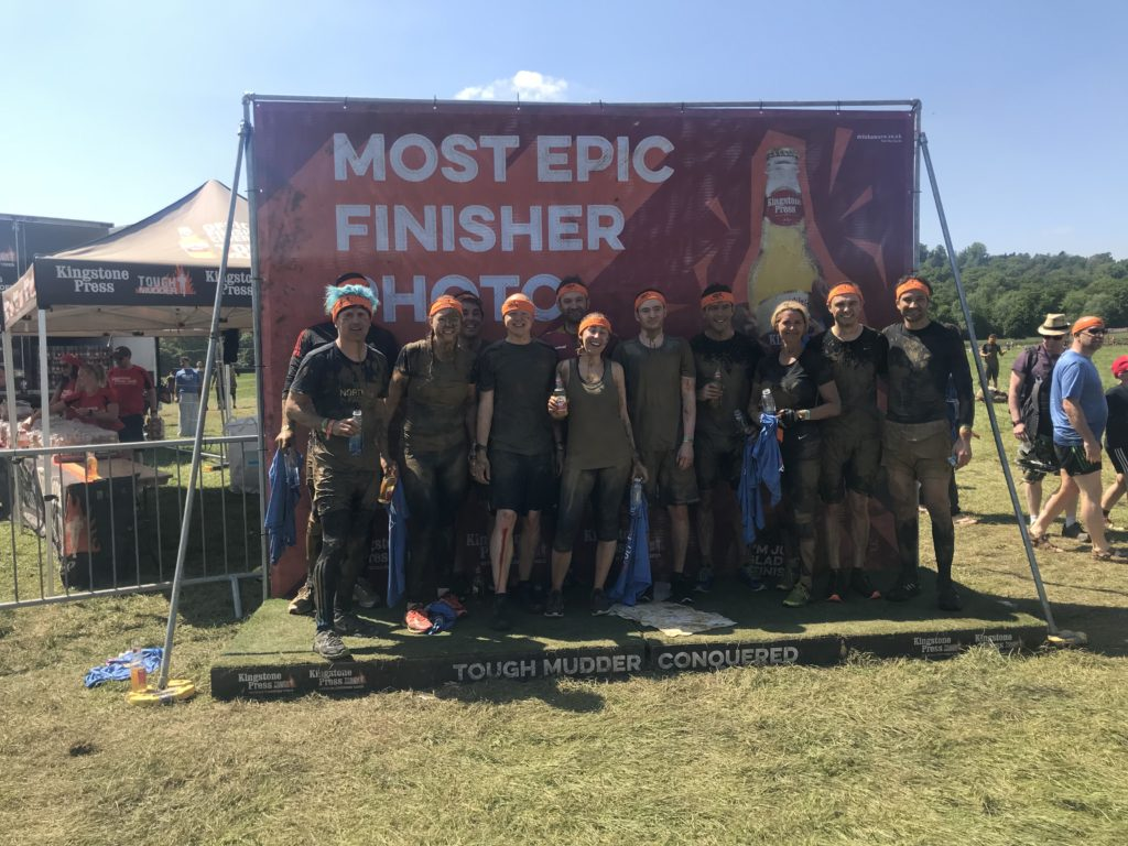 Team Progeny at Tough Mudder