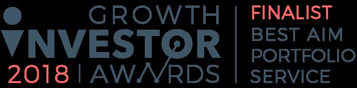 Growth Investor Awards 2018 Finalist –Best AIM Portfolio Service