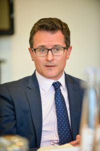 Alistair Scott-Somers at The Business Desk roundtable