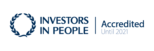 Investors In People – Accredited until 2021