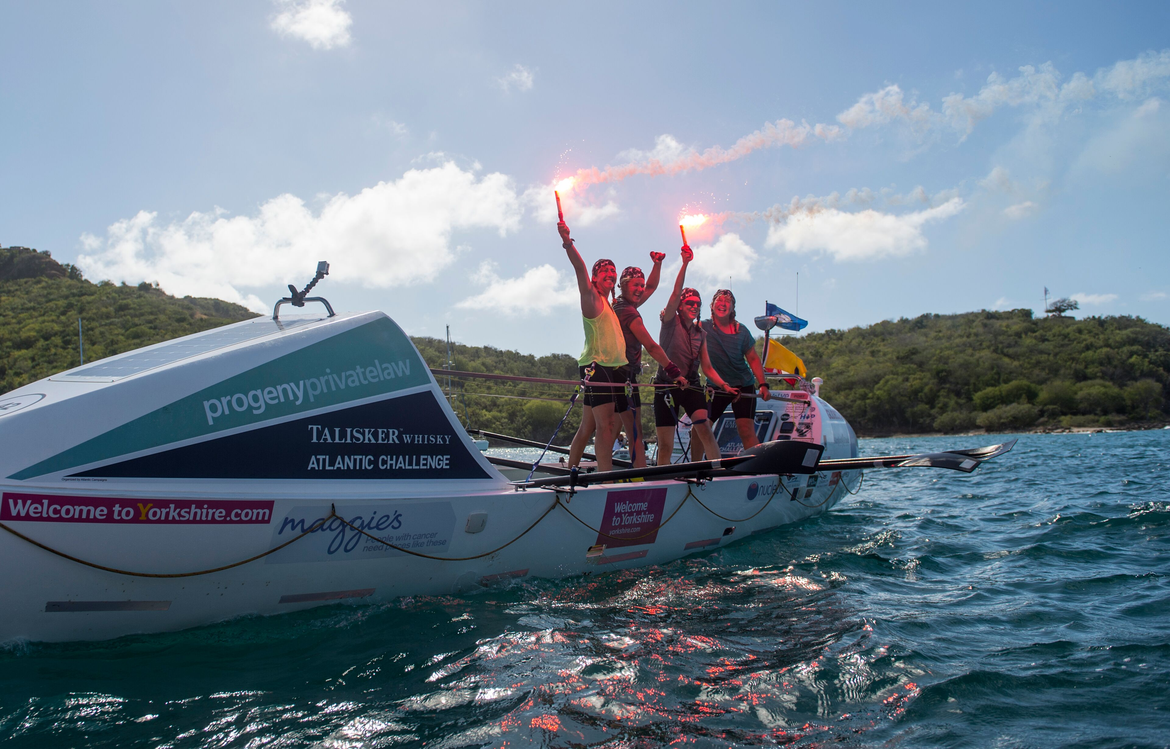 What Rowing the Atlantic Taught Me About Facing Challenges