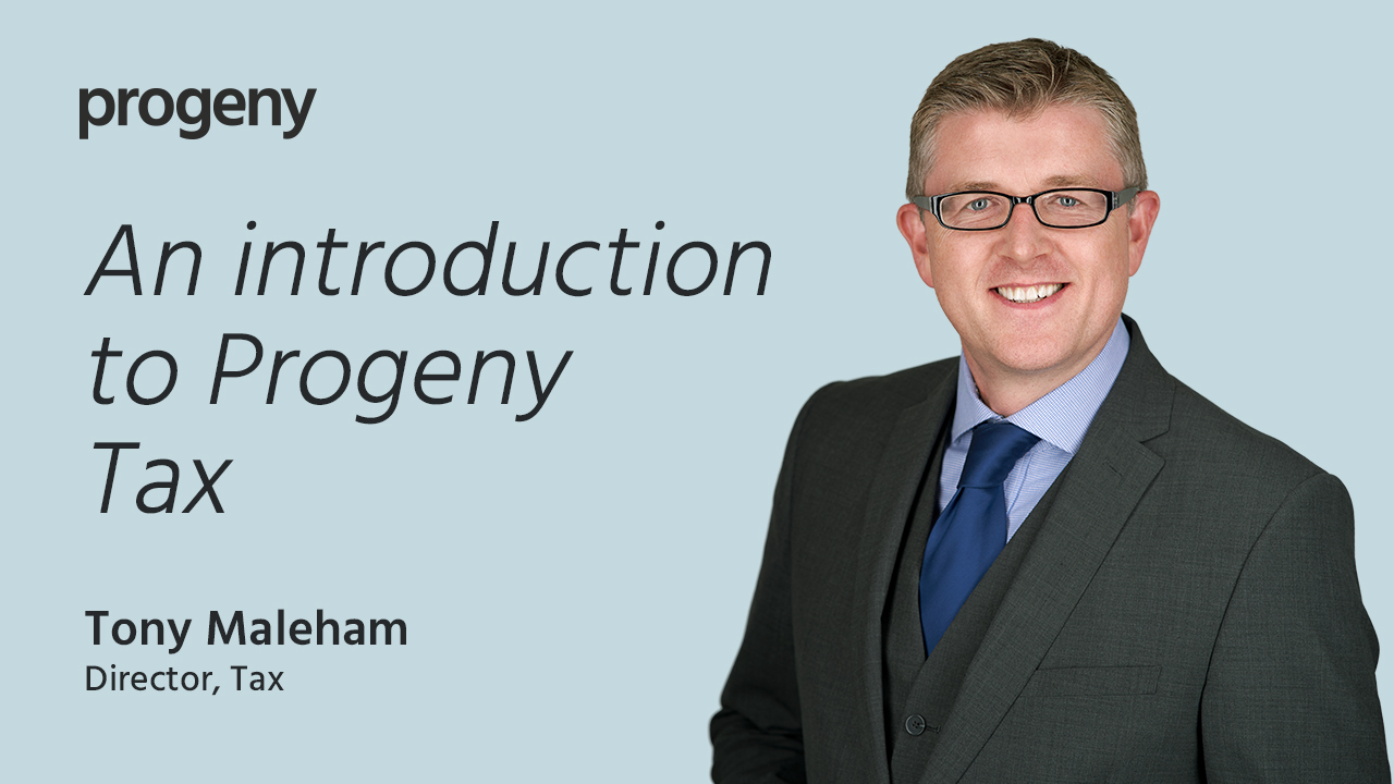 Progeny Tax Intro Graphic