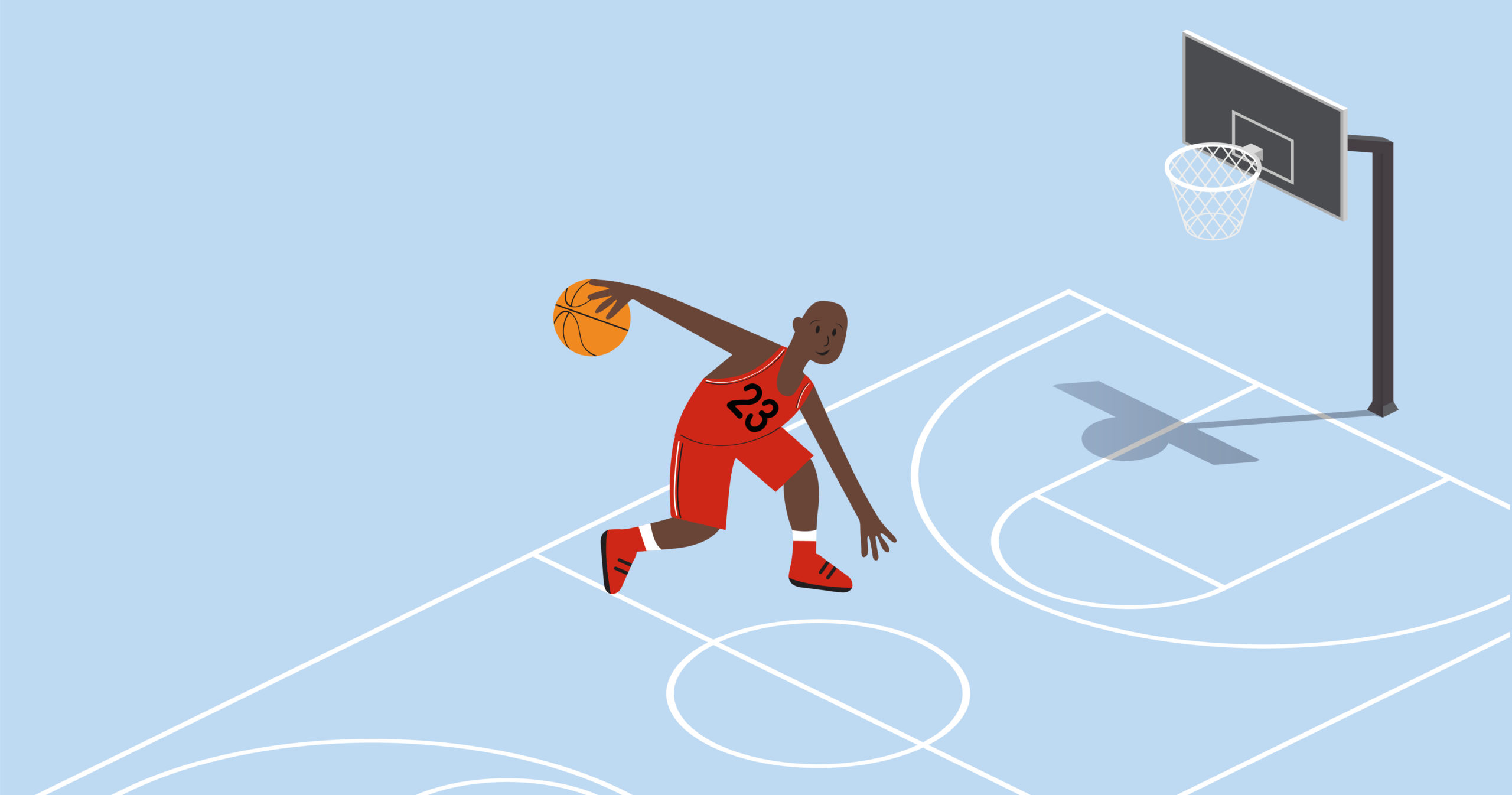 Illustration of Michael Jordan