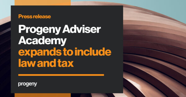 Progeny adviser academy law and tax