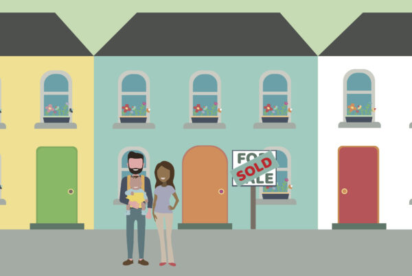 Illustration of first time buyers