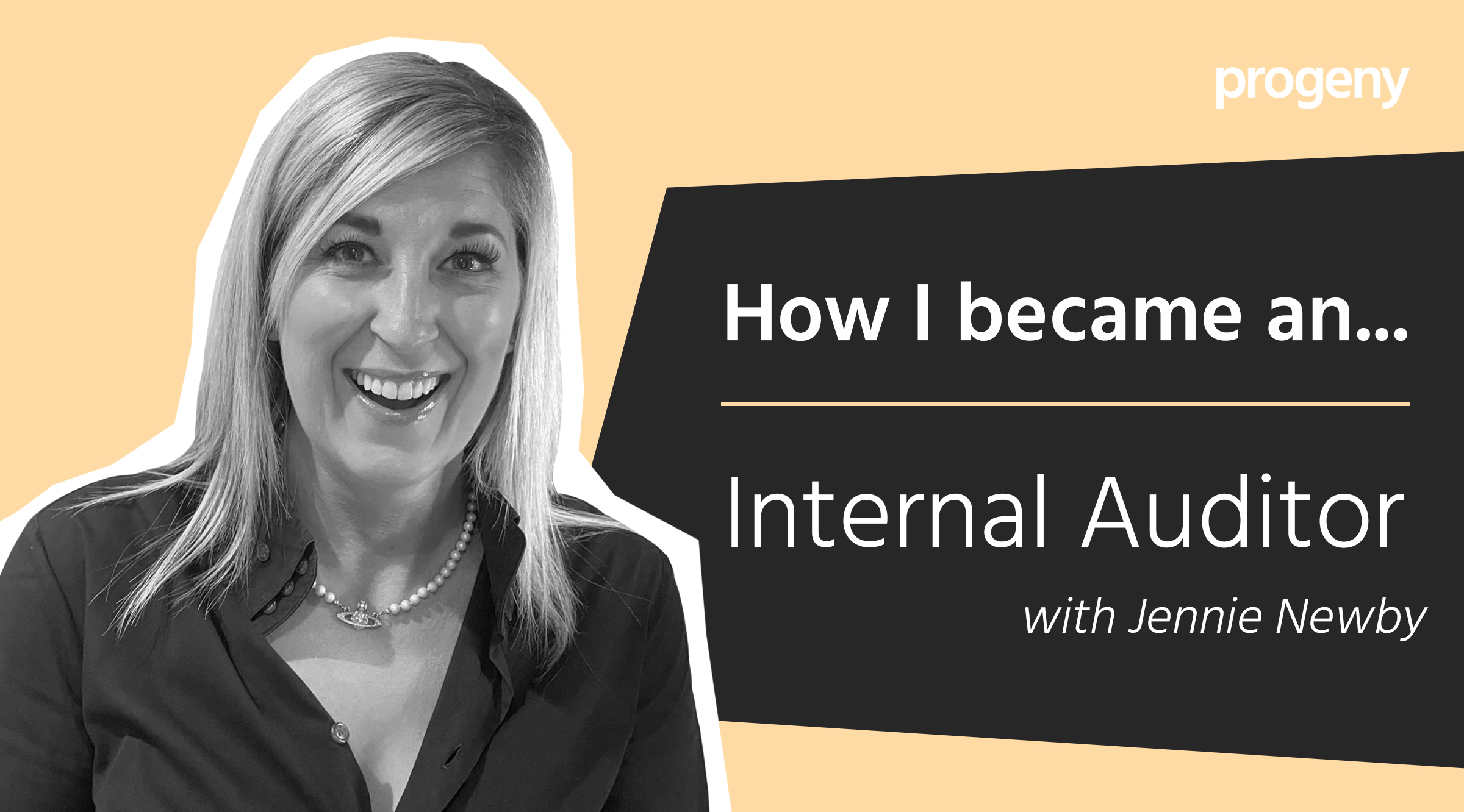 Graphic how I became an internal auditor