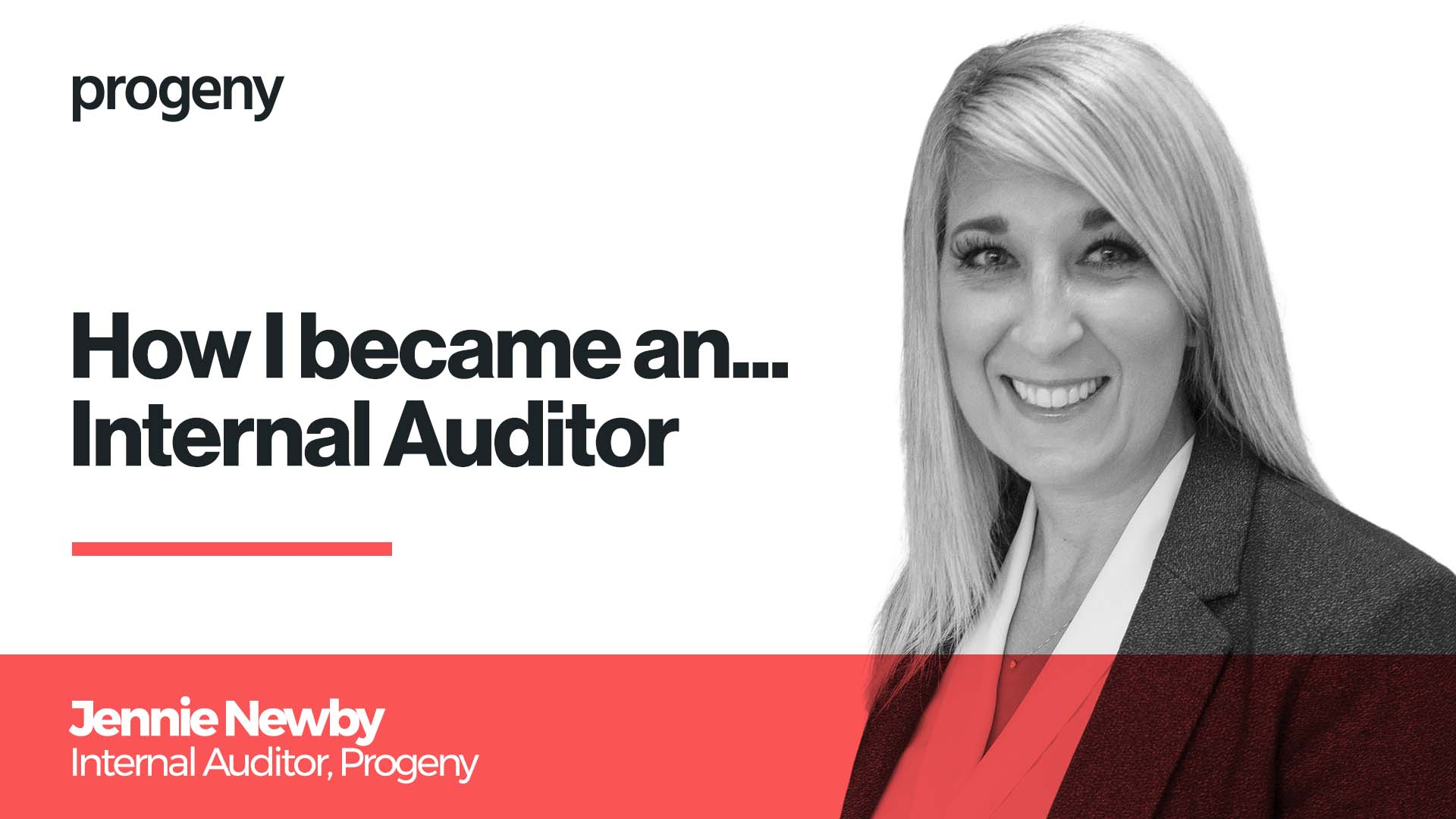 How I became an internal auditor