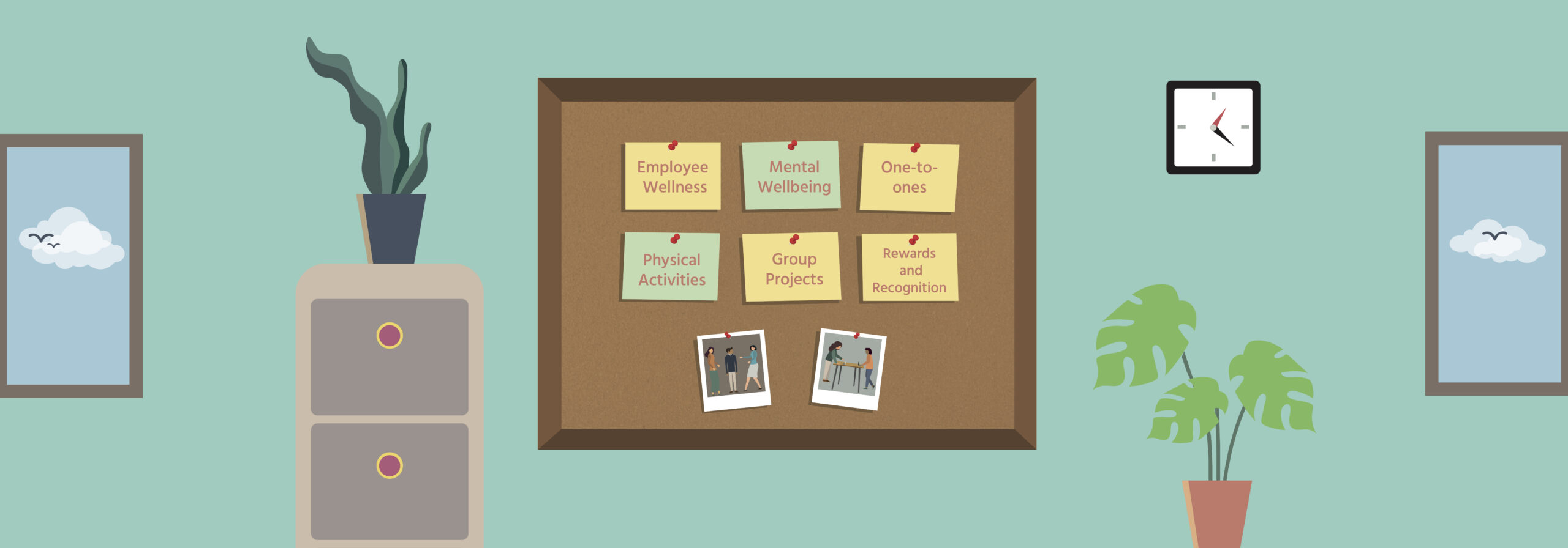 Implementing a workplace wellbeing programme
