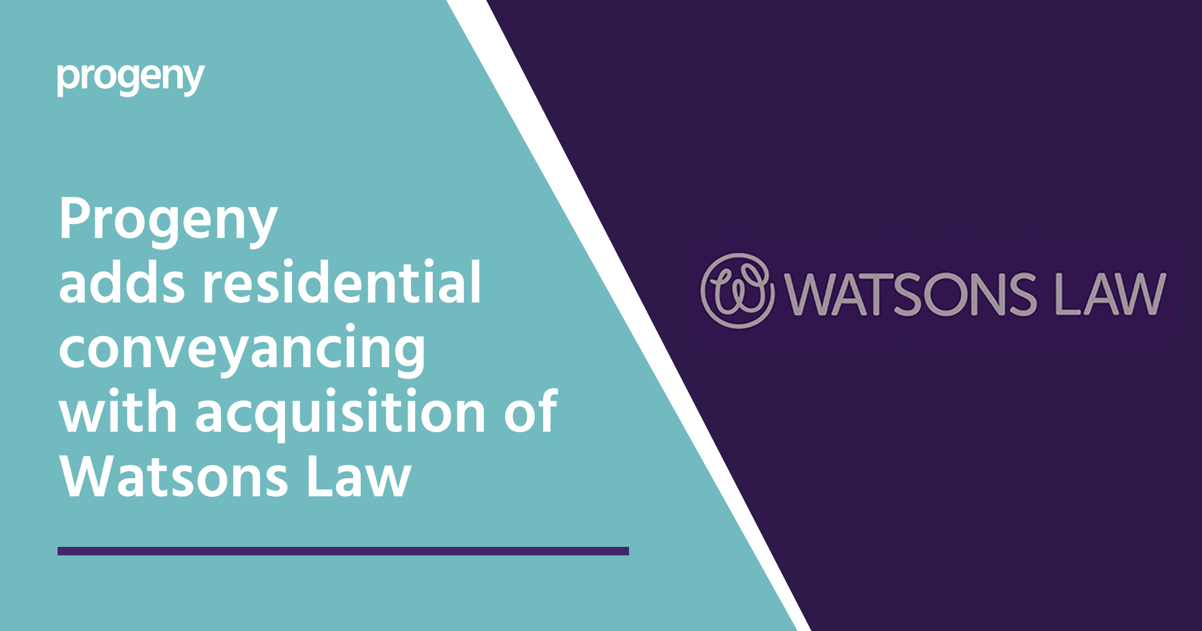 Graphic of Watsons Law acquisition