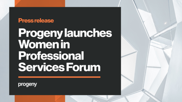 Progeny launches women in professional services forum