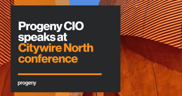 Progeny CIO speaks at Citywire North conference