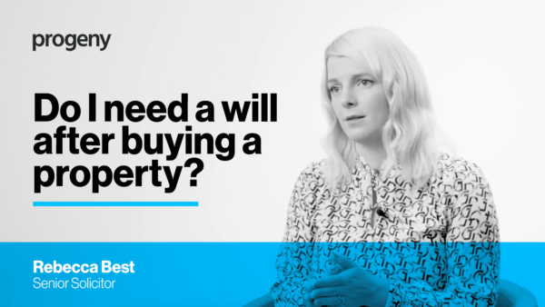 Do I need a will after buying a property?