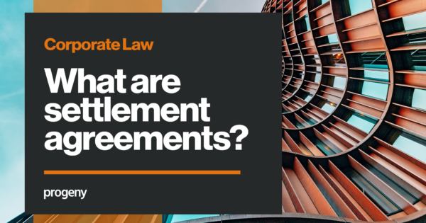 What are settlement agreements